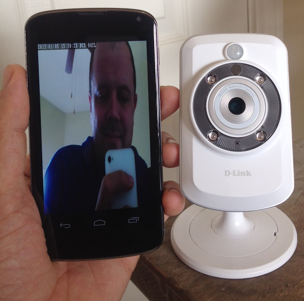 Video streaming from an IP camera to an Android phone