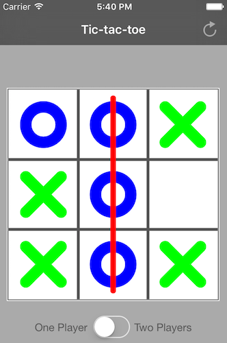Creating Tic-tac-toe in Swift: User interface | iJoshSmith
